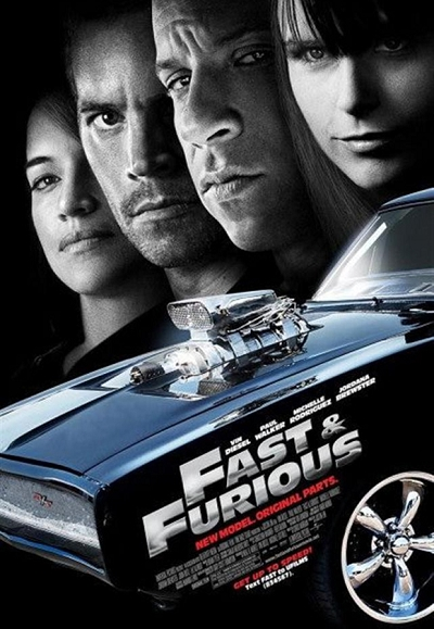 《速度与激情4》(Fast & Furious)