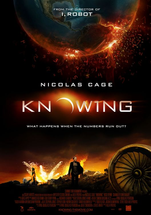 《Knowing》2009,中文译名:《神秘代码》